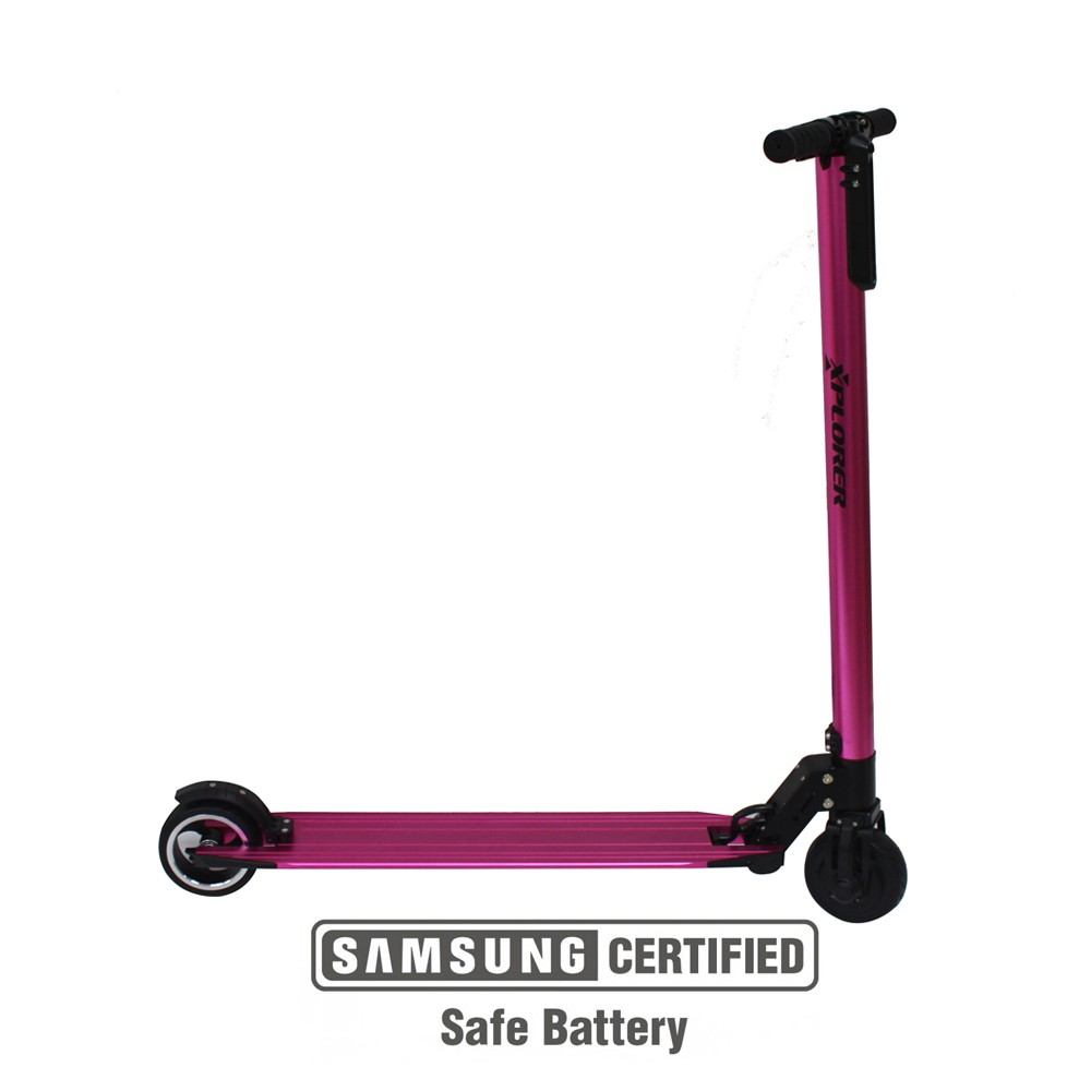 E-Scooter Xplorer ZOOM pink 5""