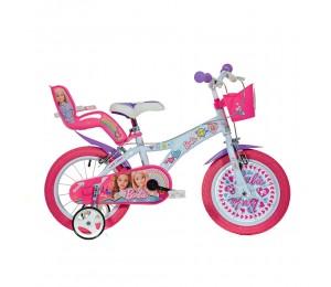 Kinderfahrrad Dino Barbie 14''