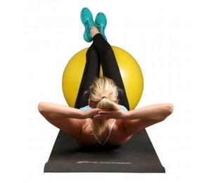 Pilates Ball gelb 75cm + Pumpe - Xplorer